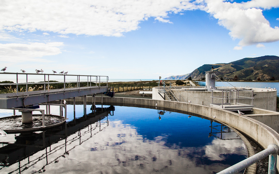 Nelson North Sewage Treatment Plant